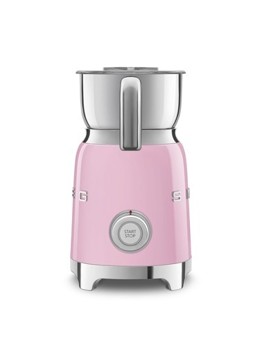 Smeg Mff01Pkeu Retro Pembe Süt Köpürtme Makinesi Pembe